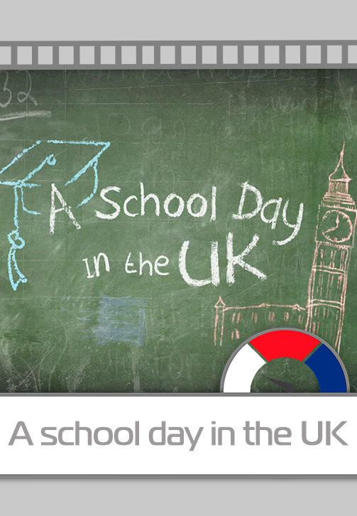 Постер к сериалу A school day in the UK 2018