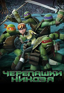 Постер к сериалу Черепашки-ниндзя. Сезон 4 2015