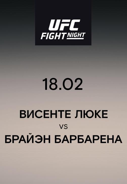 Постер к сериалу Висенте Люке VS Брайэн Барбарена 2019