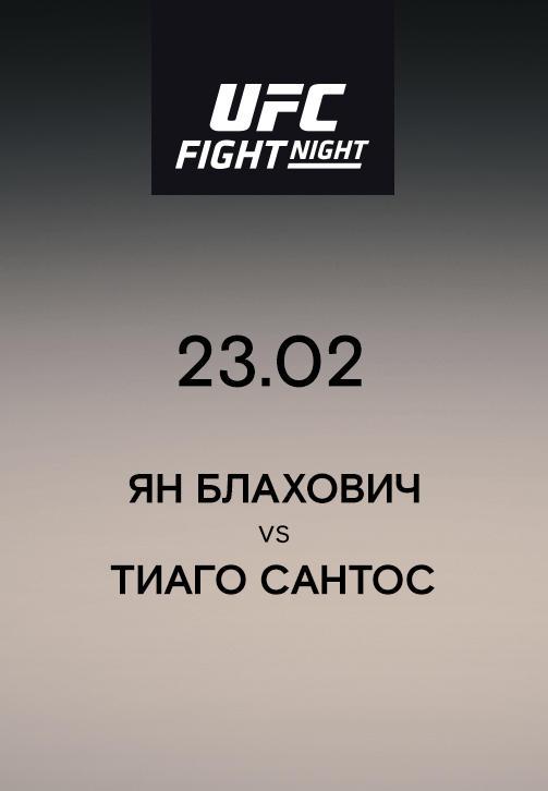 Постер к сериалу Ян Блахович vs Тиаго Сантос 2019