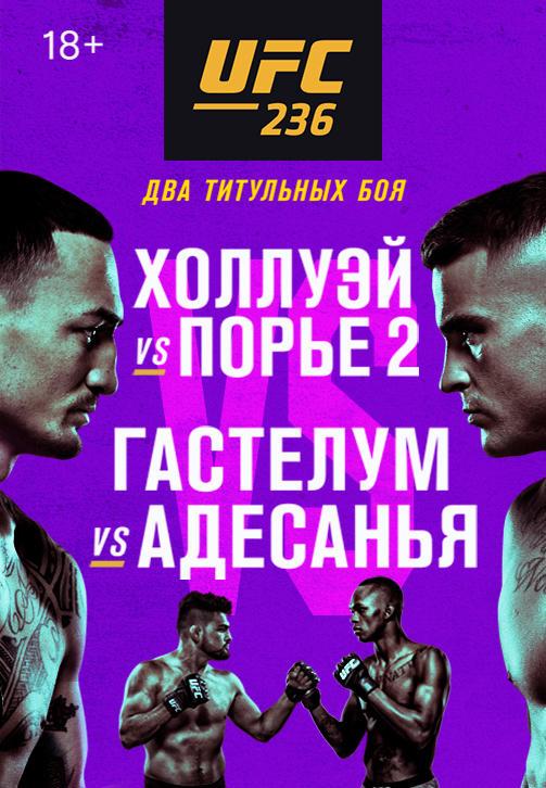 Постер к сериалу UFC 236 2019