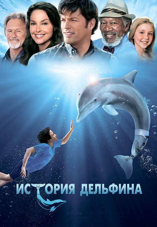 Постер к фильму История дельфина 2011