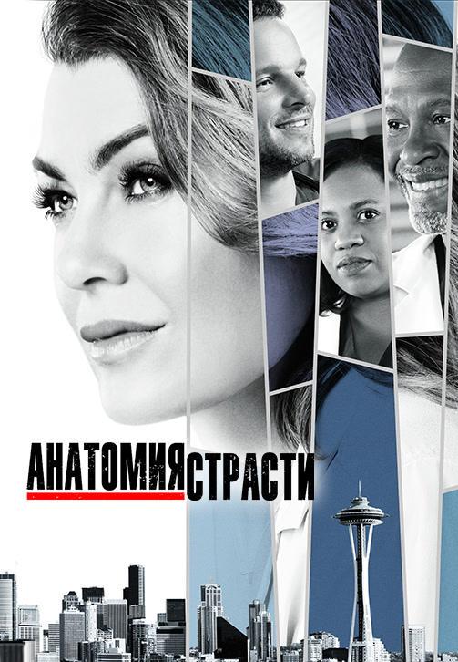 Постер к сериалу Анатомия страсти. Сезон 14. Серия 10 2017