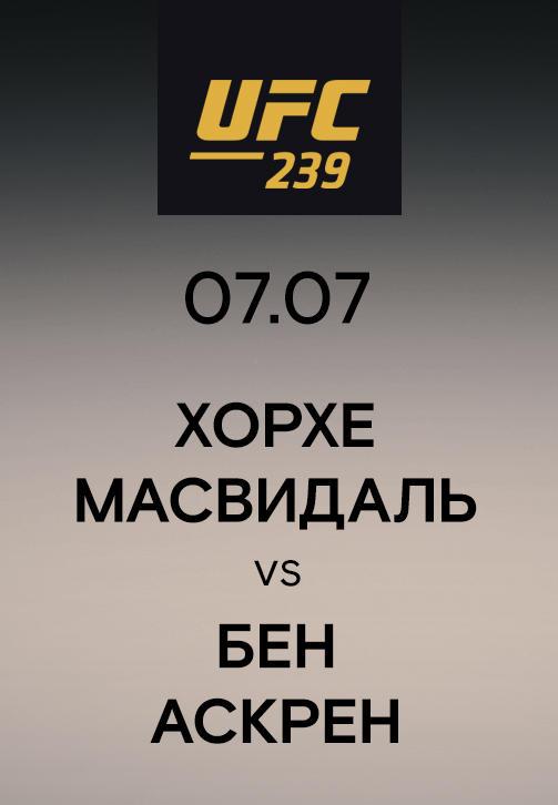 Постер к сериалу Хорхе Масвидаль vs Бен Аскрен 2019