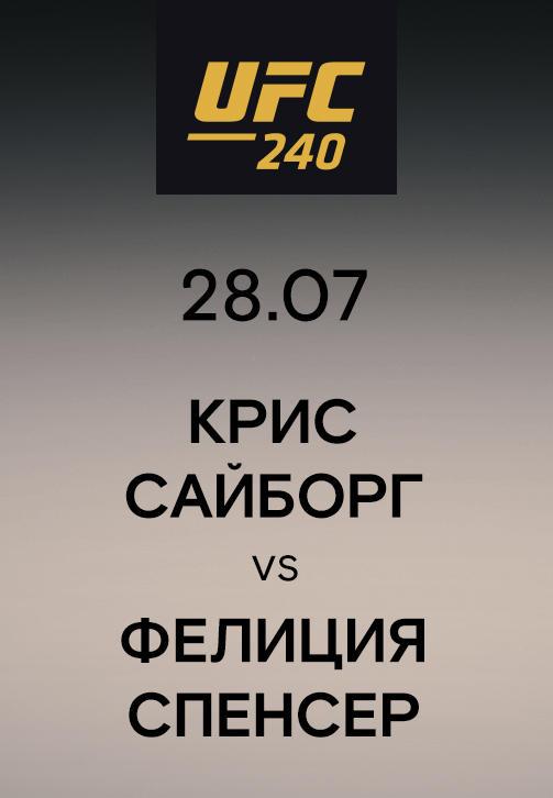 Постер к сериалу Крис Сайборг vs Фелиция Спенсер 2019