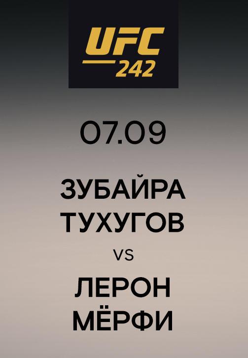 Постер к сериалу Зубайра Тухугов vs Лерон Мёрфи 2019