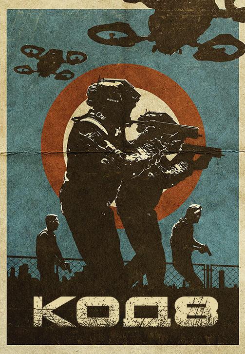 Постер к фильму Код 8 2019