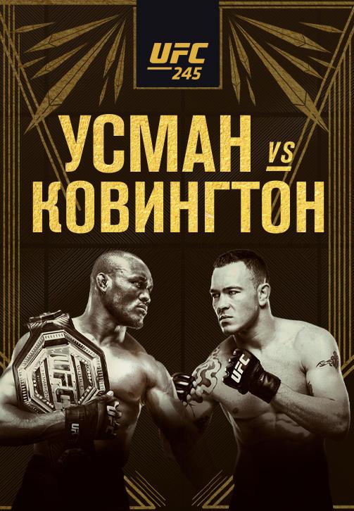 Постер к сериалу UFC 245 2019