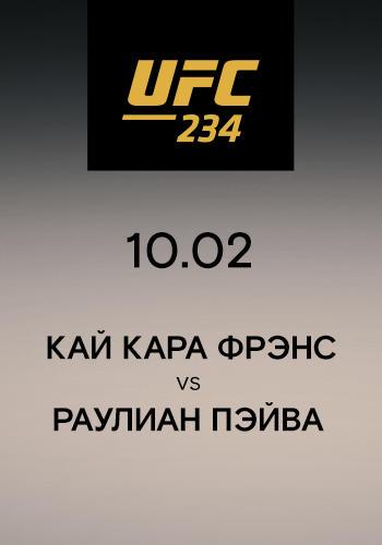 Постер к сериалу Кай Кара Фрэнс vs Раулиан Пэйва 2019