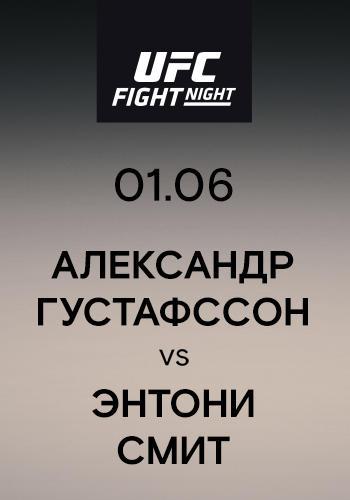 Постер к сериалу Александр Густафссон vs Энтони Смит 2019